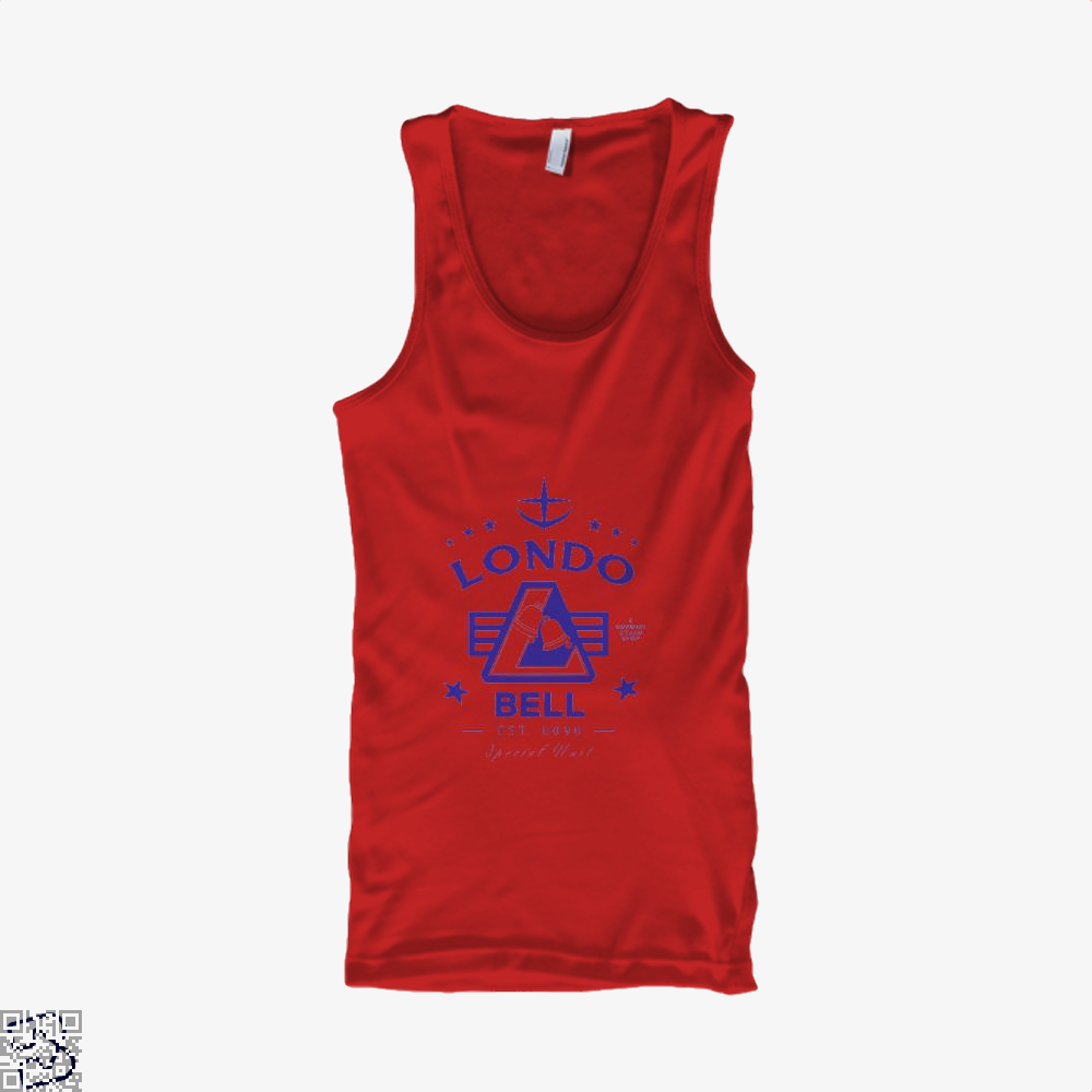 Londo Bell Gundam Tank Top - Women / Red / X-Small - Productgenjpg