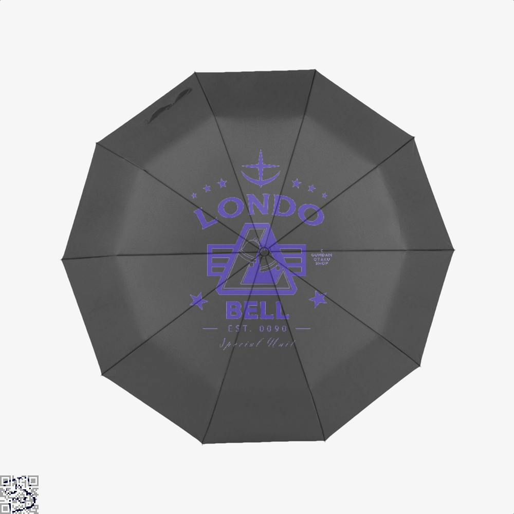 Londo Bell Gundam Umbrella - Black - Productgenjpg