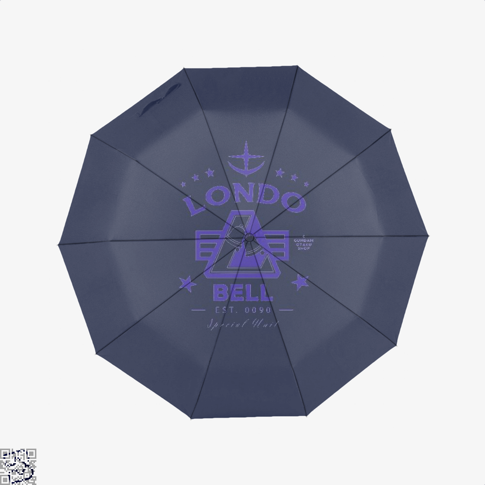 Londo Bell Gundam Umbrella - Blue - Productgenjpg