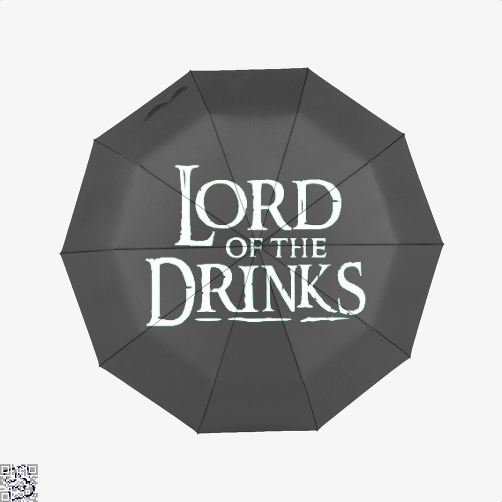Lord Of The Drinks Irish Clover Umbrella - Black - Productgenjpg