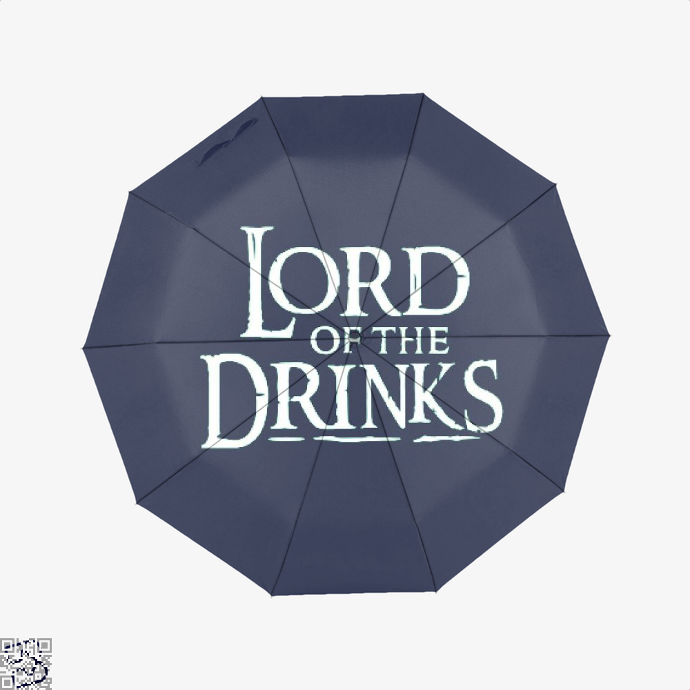 Lord Of The Drinks Irish Clover Umbrella - Blue - Productgenjpg