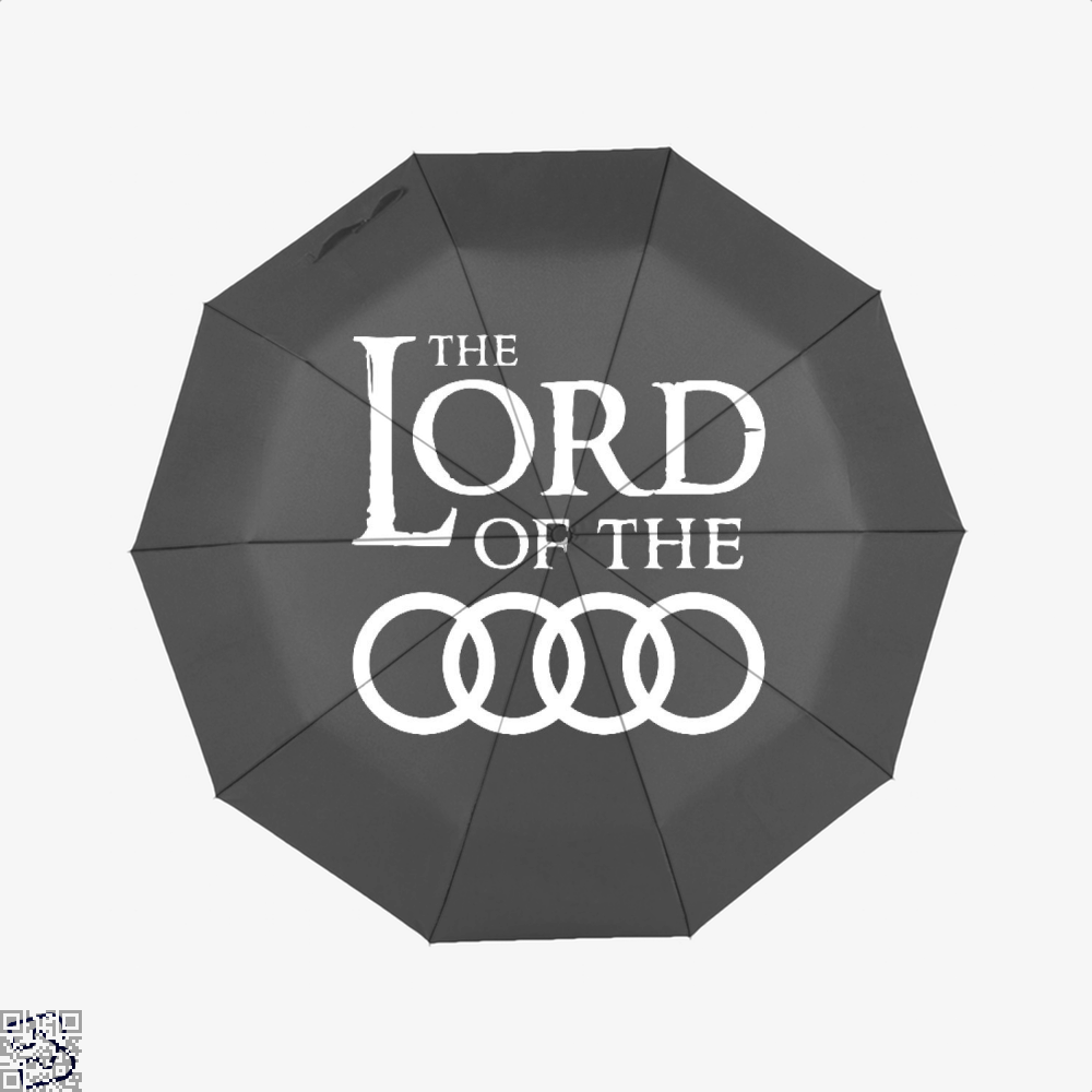 Lord Of The Roads Rings Umbrella - Black - Productgenapi