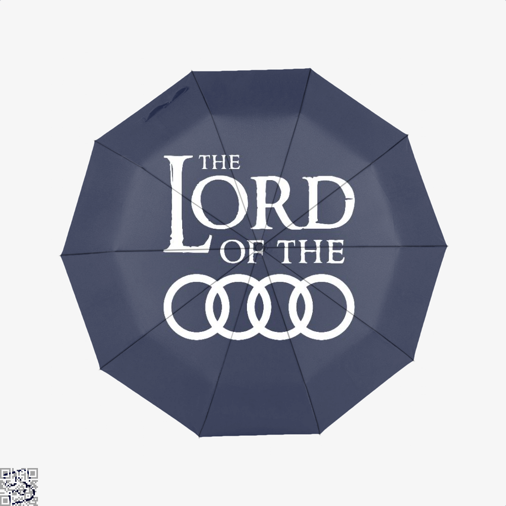 Lord Of The Roads Rings Umbrella - Blue - Productgenapi