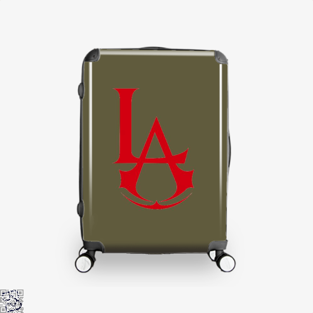 Los Angeles Assassin Assassins Creed Suitcase - Brown / 16 - Productgenjpg