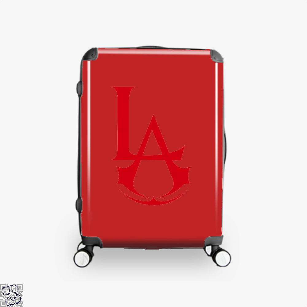 Los Angeles Assassin Assassins Creed Suitcase - Red / 16 - Productgenjpg