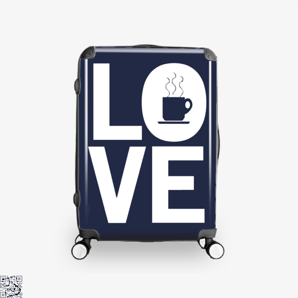 Love Coffee Suitcase - Blue / 16 - Productgenapi