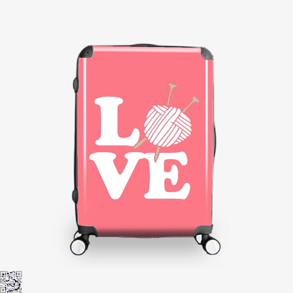 Love Knitting And Crochet Sewing Suitcase - Pink / 16 - Productgenjpg