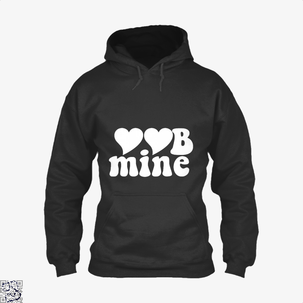 Love Mine Valentines Day Hoodie - Black / X-Small - Productgenjpg