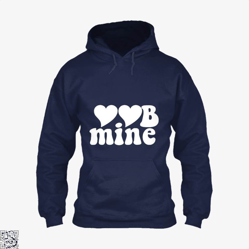 Love Mine Valentines Day Hoodie - Blue / X-Small - Productgenjpg