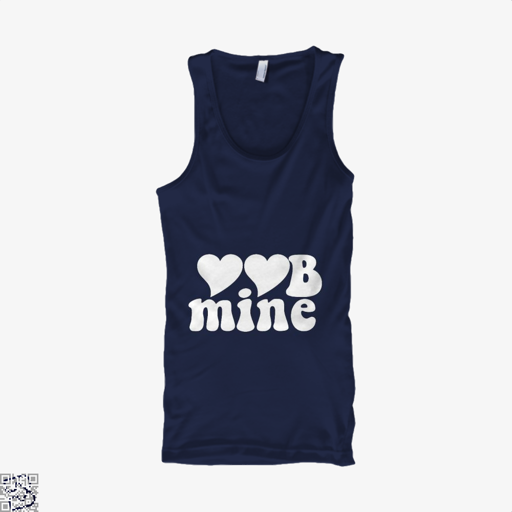Love Mine Valentines Day Tank Top - Men / Blue / X-Small - Productgenjpg