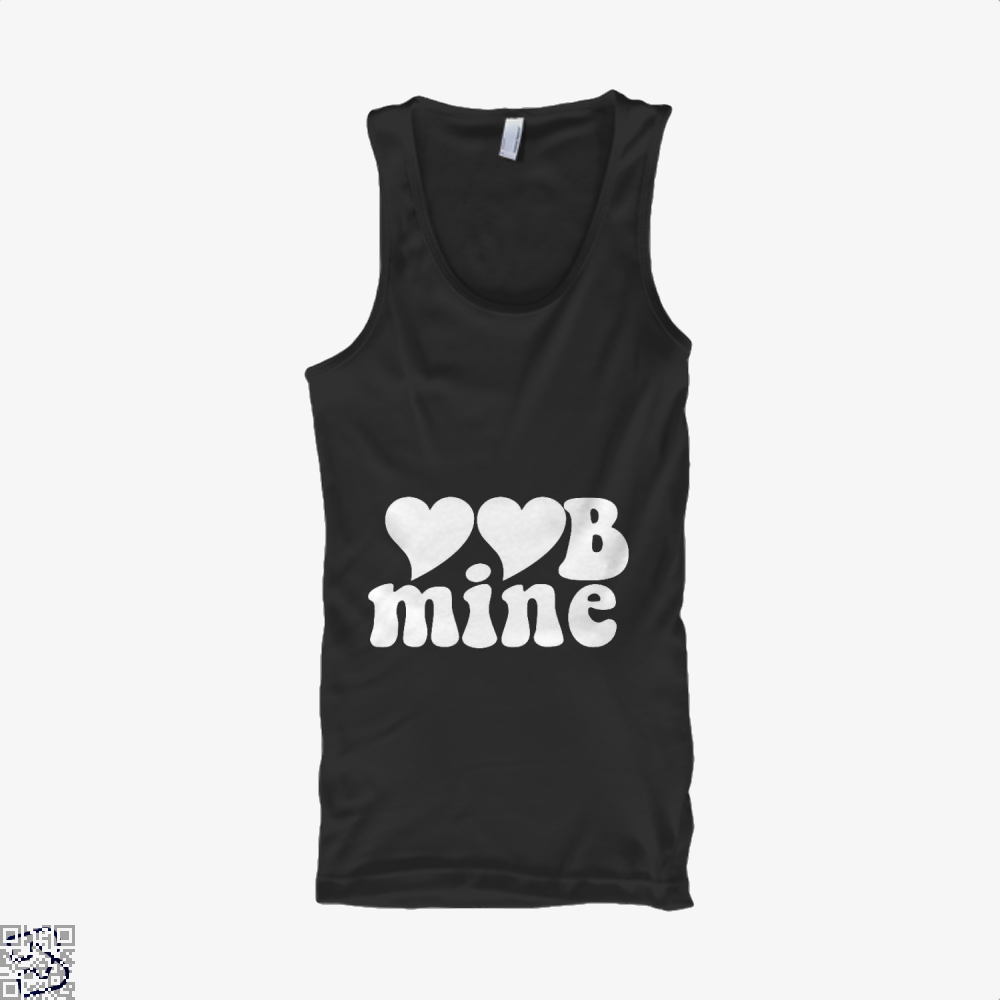 Love Mine Valentines Day Tank Top - Women / Black / X-Small - Productgenjpg