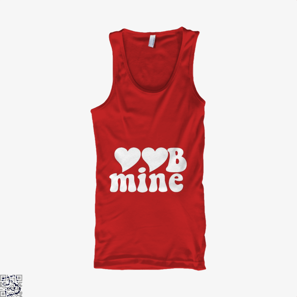 Love Mine Valentines Day Tank Top - Women / Red / X-Small - Productgenjpg
