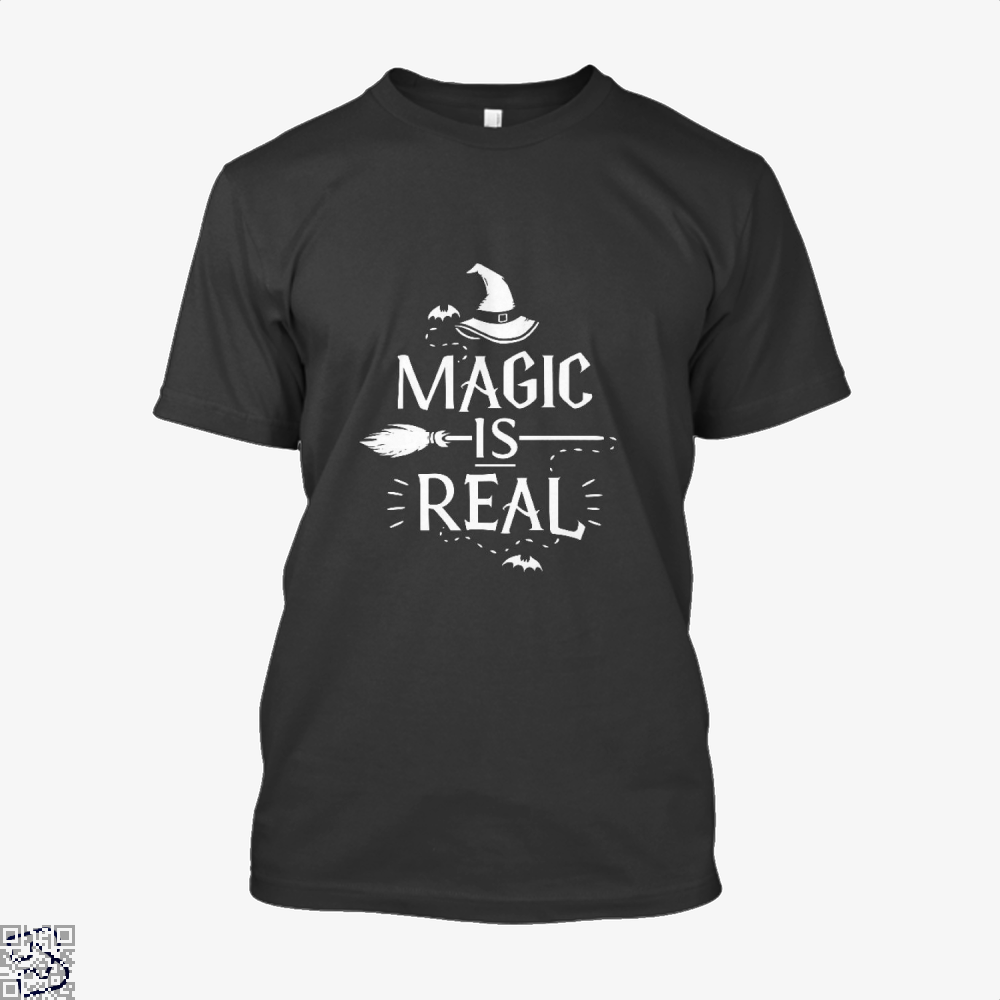 Magic Is Real Halloween Witch Shirt - Men / Black / X-Small - Productgenjpg