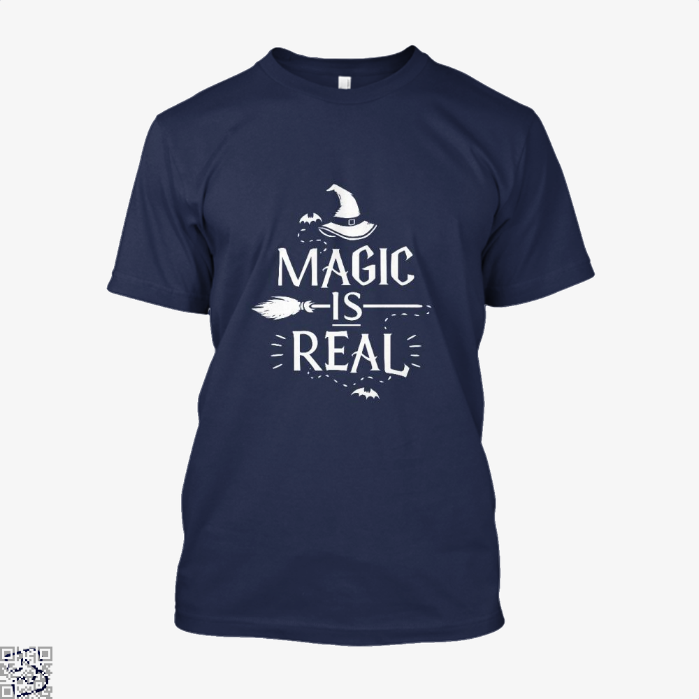 Magic Is Real Halloween Witch Shirt - Men / Blue / X-Small - Productgenjpg
