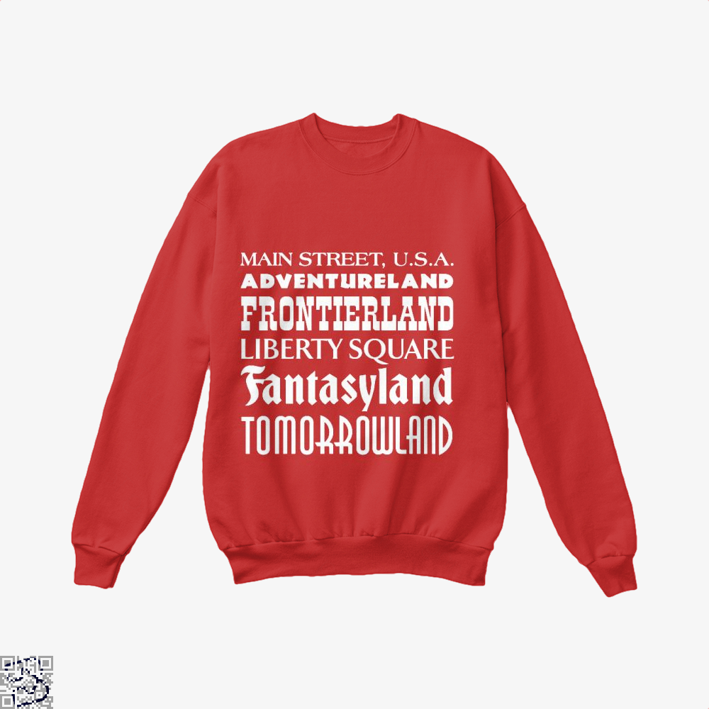 Magical Kingdom Fifa World Cup Crew Neck Sweatshirt - Red / X-Small - Productgenapi