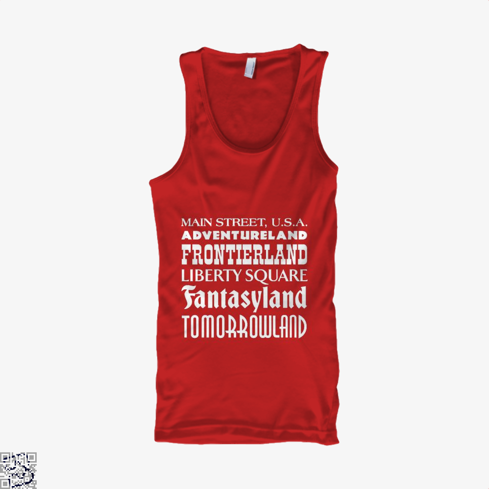 Magical Kingdom Fifa World Cup Tank Top - Women / Red / Small - Productgenapi