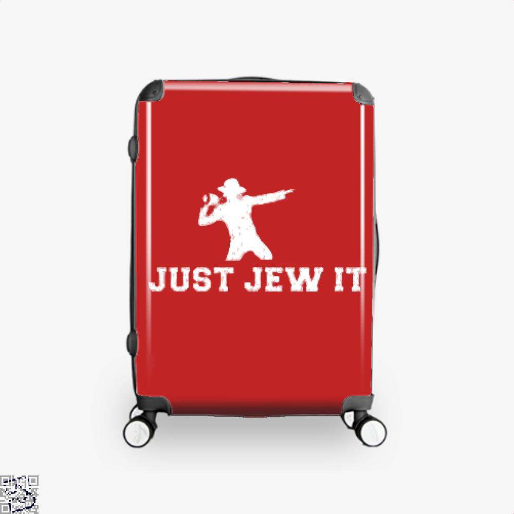 Michael Jackson Just Jew It Parodic Suitcase - Red / 16 - Productgenjpg