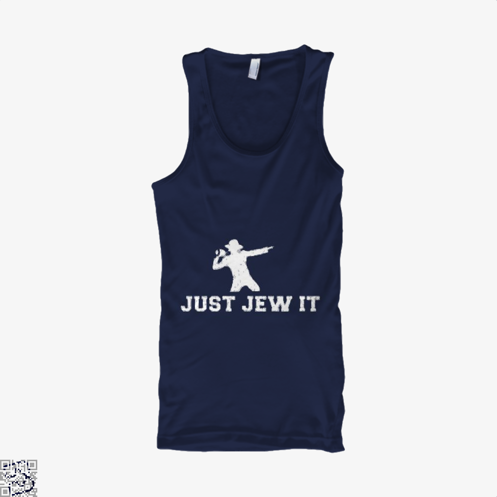 Michael Jackson Just Jew It Parodic Tank Top - Productgenjpg