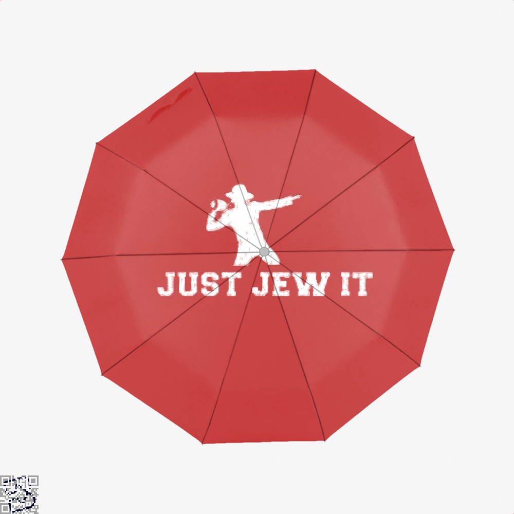 Michael Jackson Just Jew It Parodic Umbrella - Red - Productgenjpg