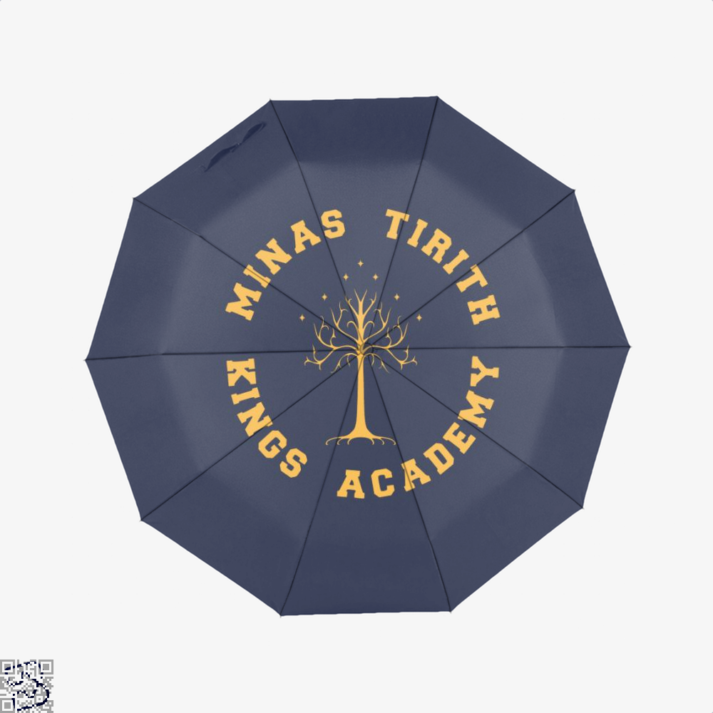 Minas Tirith Academy Gold Lord Of The Rings Umbrella - Blue - Productgenjpg