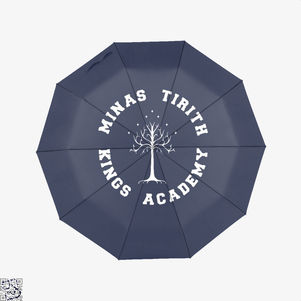 Minas Tirith Academy White Lord Of The Rings Umbrella - Blue - Productgenapi