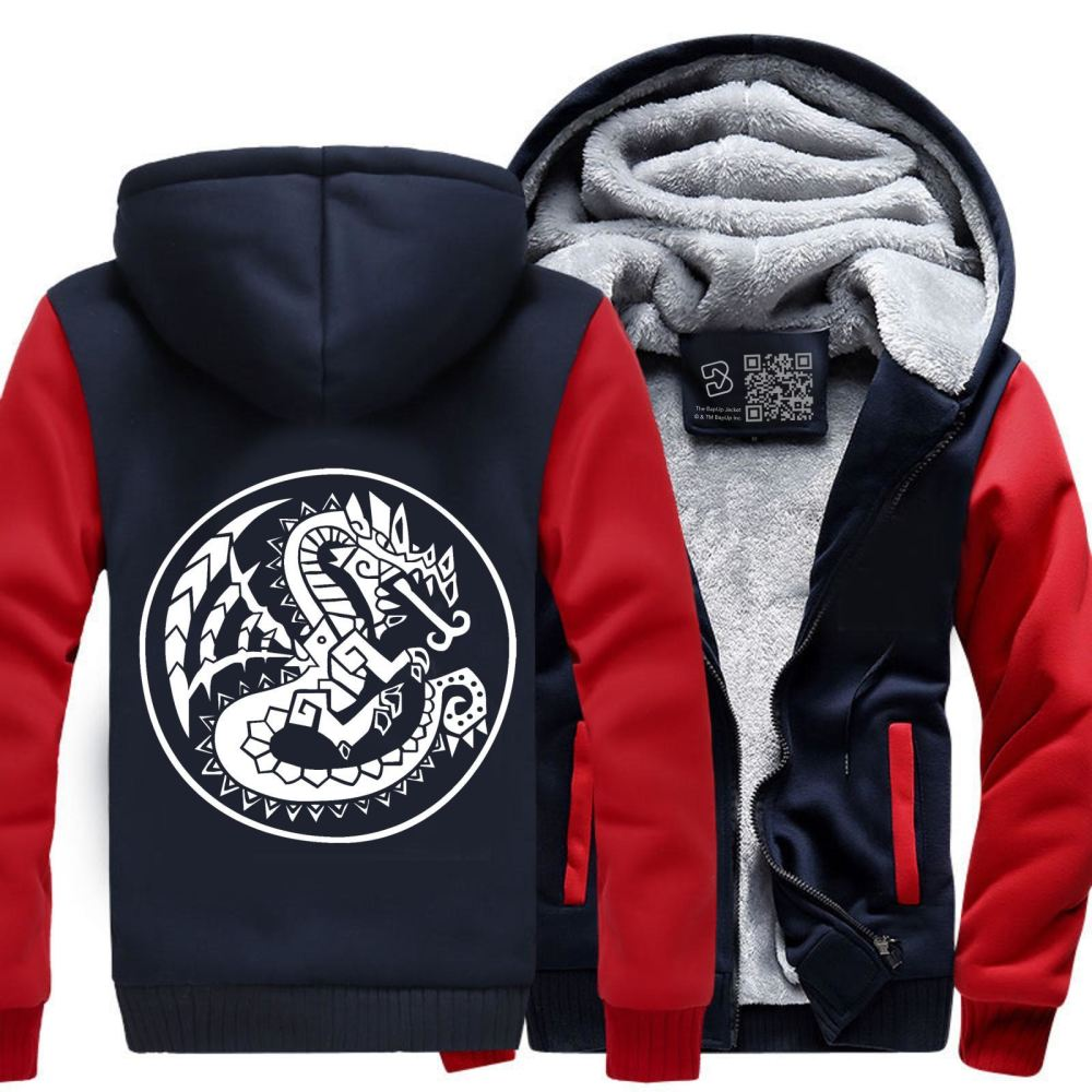 Monster Hunter Fleece Jacket - Productgenjpg