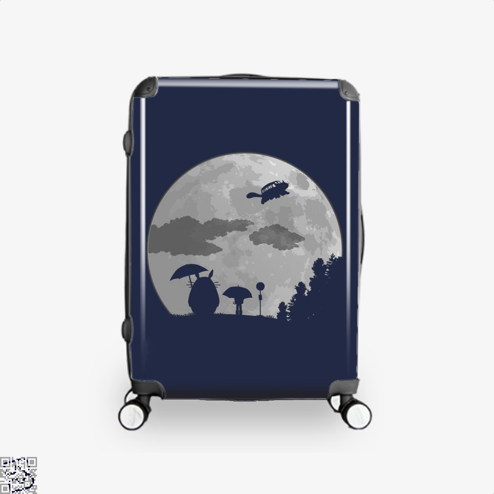 Moon Light My Neighbour Totoro Suitcase - Blue / 16 - Productgenapi