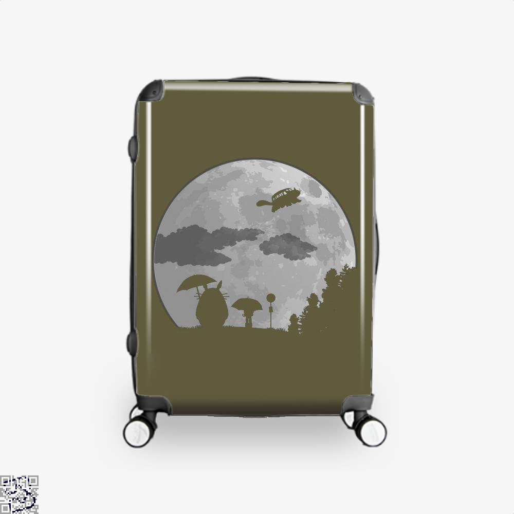 Moon Light My Neighbour Totoro Suitcase - Brown / 16 - Productgenapi