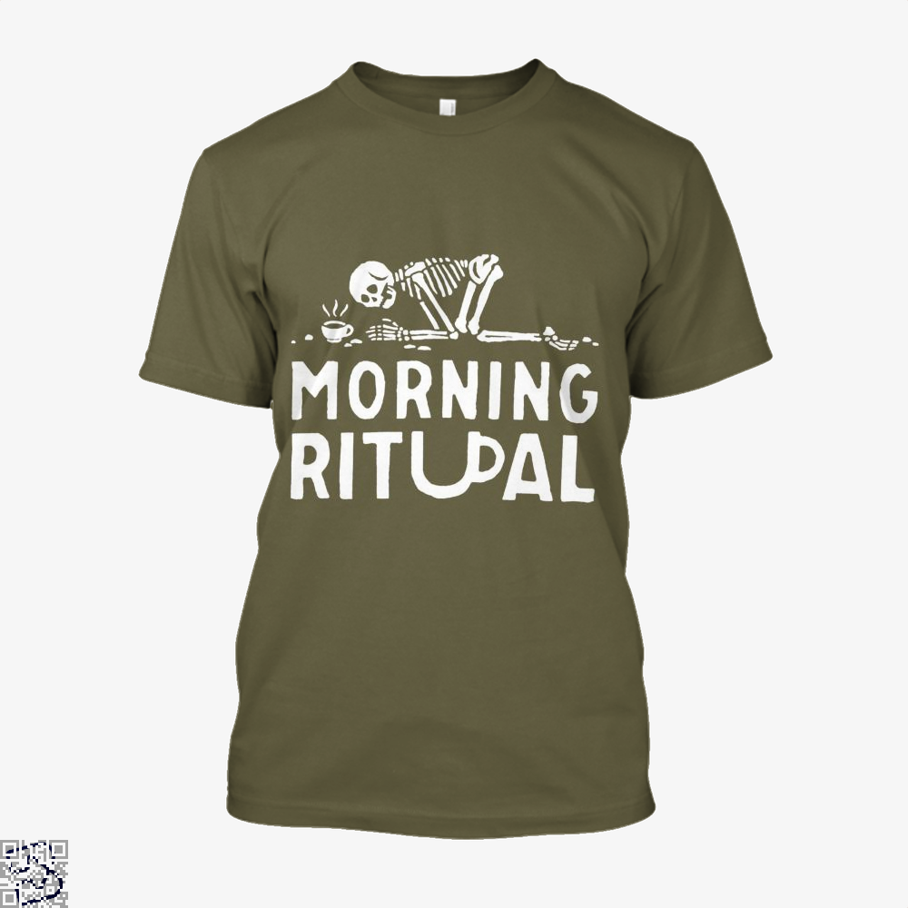 Morning Ritual Coffee Shirt - Men / Brown / X-Small - Productgenapi