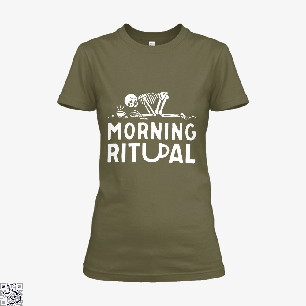 Morning Ritual Coffee Shirt - Women / Brown / X-Small - Productgenapi