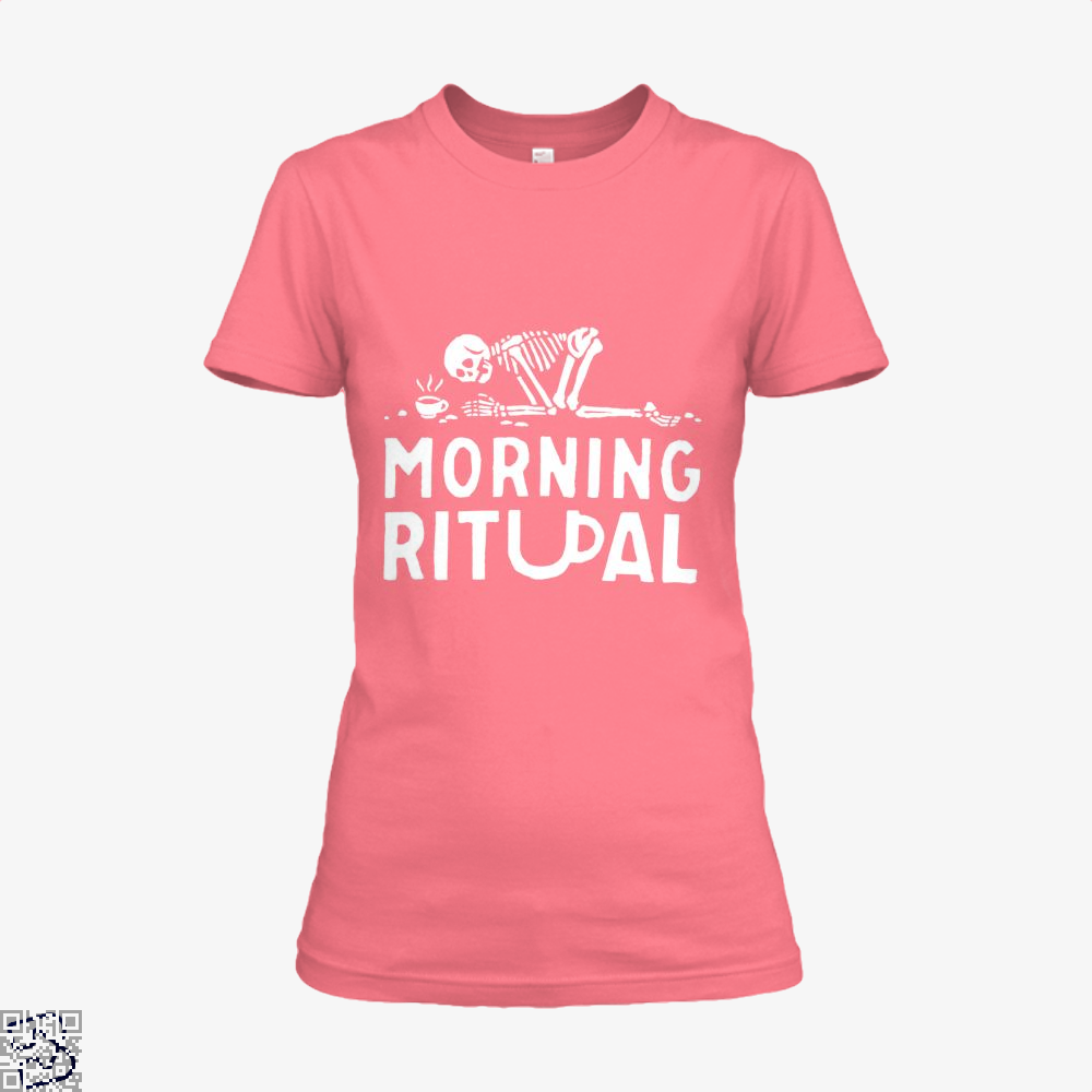 Morning Ritual Coffee Shirt - Women / Pink / X-Small - Productgenapi