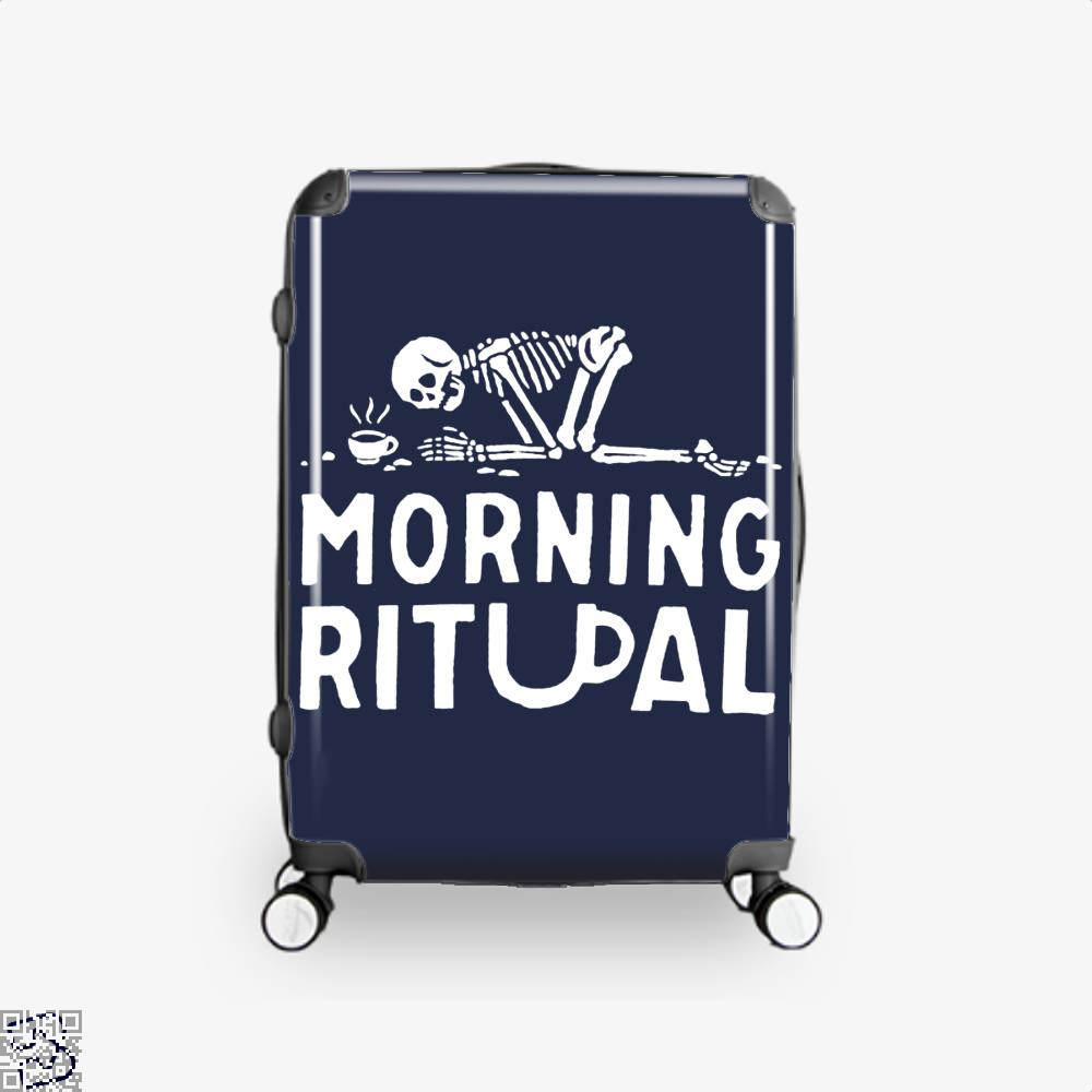 Morning Ritual Coffee Suitcase - Blue / 16 - Productgenapi