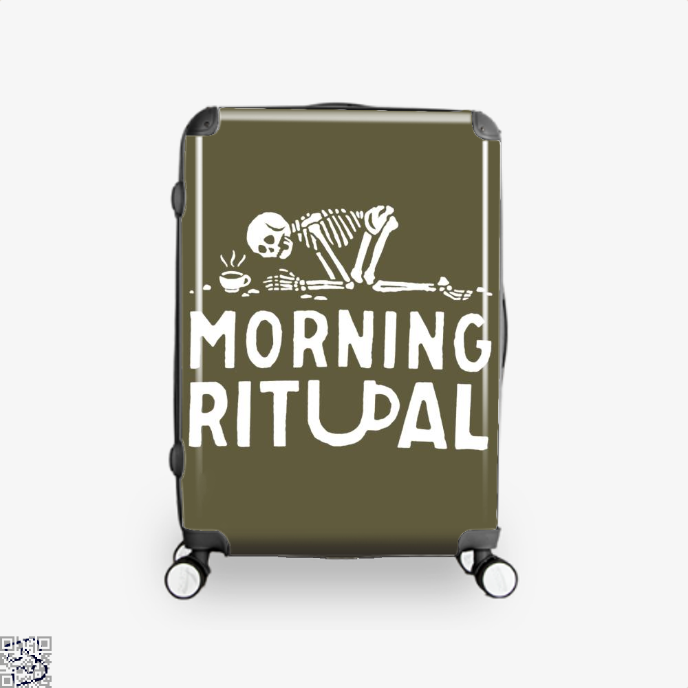Morning Ritual Coffee Suitcase - Brown / 16 - Productgenapi
