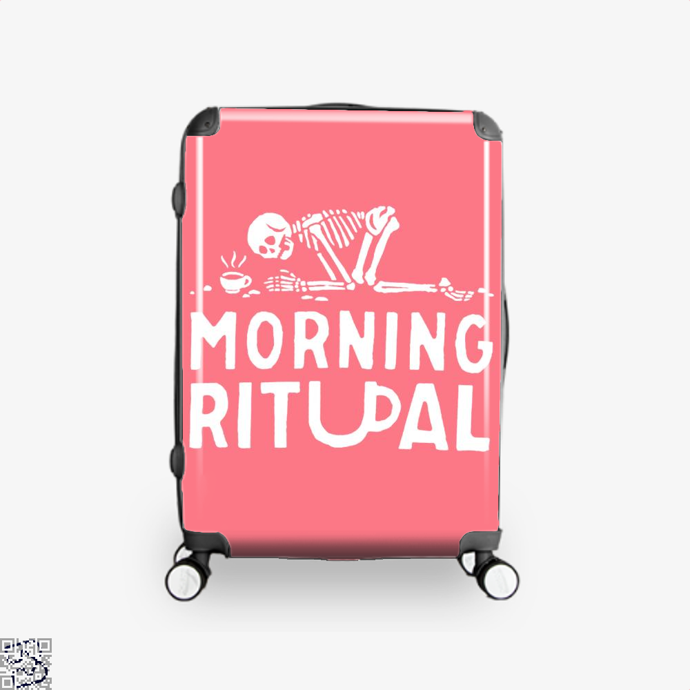 Morning Ritual Coffee Suitcase - Pink / 16 - Productgenapi