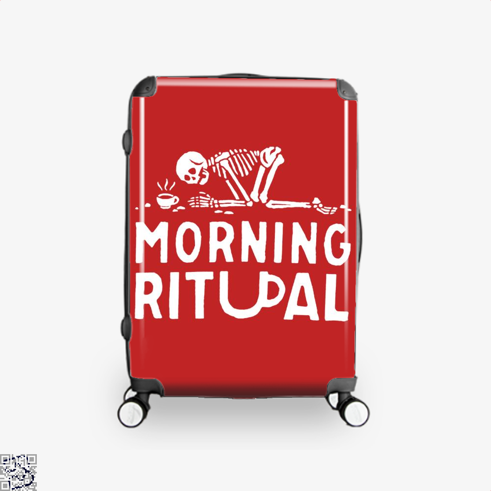 Morning Ritual Coffee Suitcase - Red / 16 - Productgenapi
