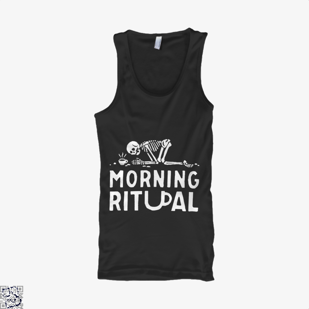 Morning Ritual Coffee Tank Top - Men / Black / Small - Productgenapi
