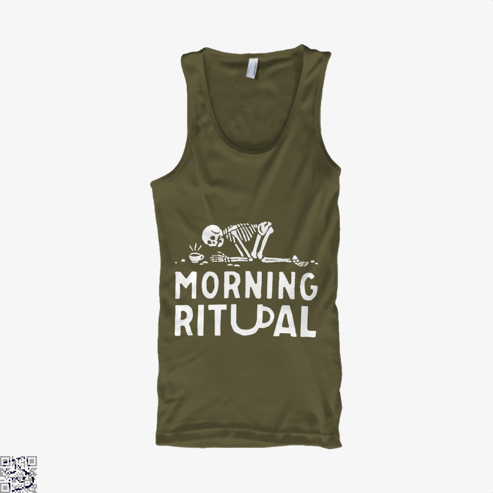 Morning Ritual Coffee Tank Top - Men / Brown / Small - Productgenapi