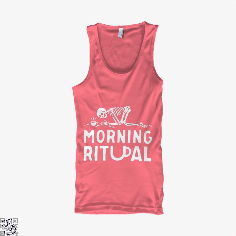 Morning Ritual Coffee Tank Top - Women / Pink / Small - Productgenapi