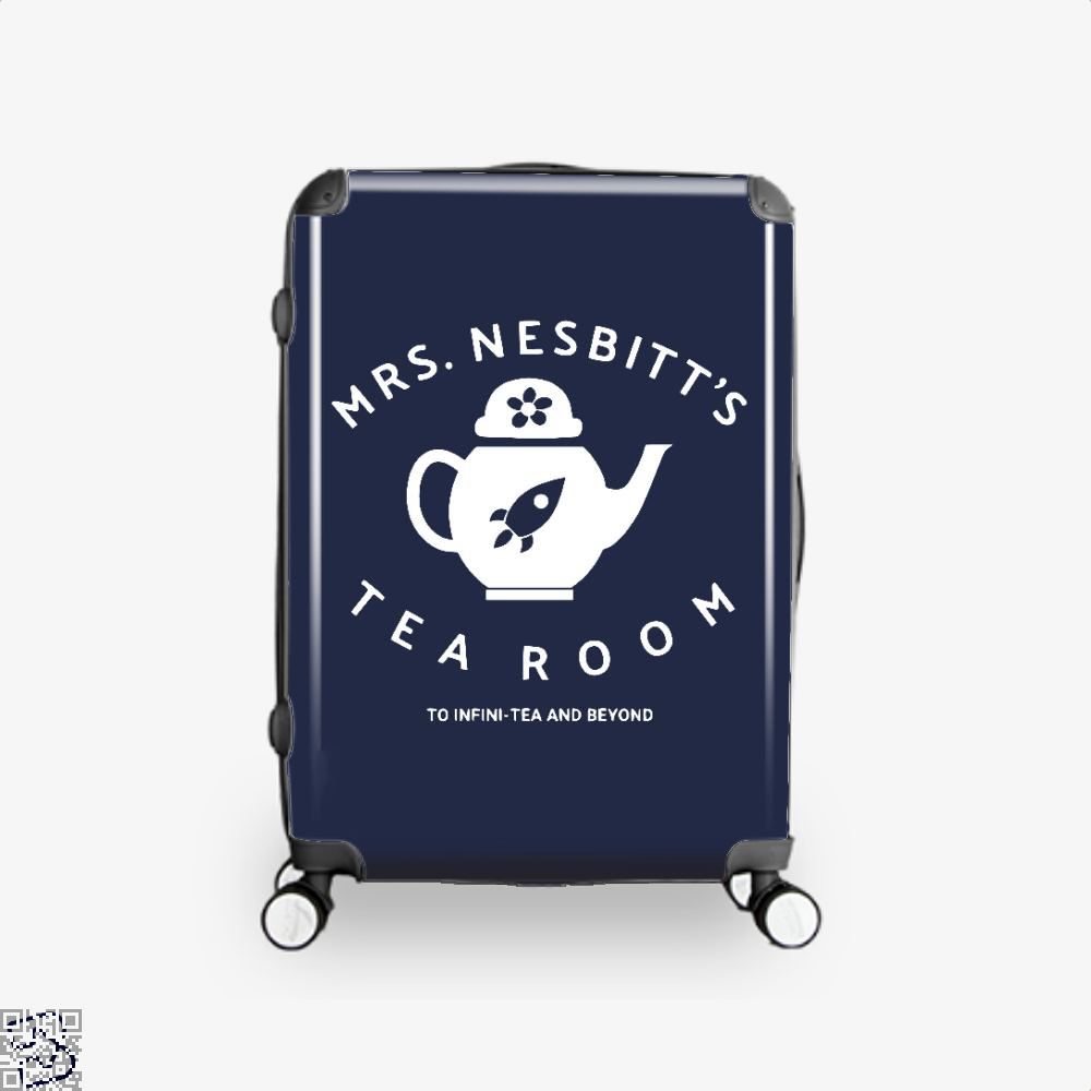 Mrs Nesbitts Tea Room Avengers Infinity War Suitcase - Blue / 16 - Productgenapi