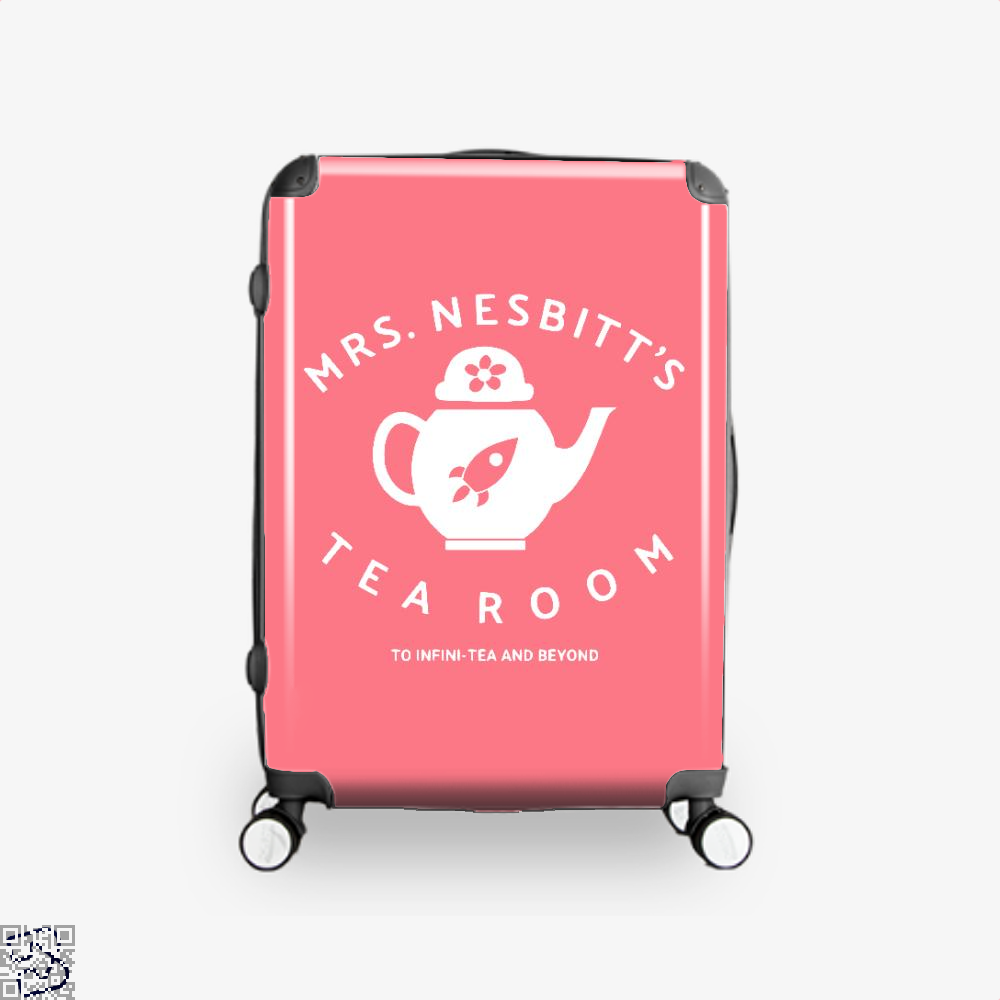 Mrs Nesbitts Tea Room Avengers Infinity War Suitcase - Pink / 16 - Productgenapi