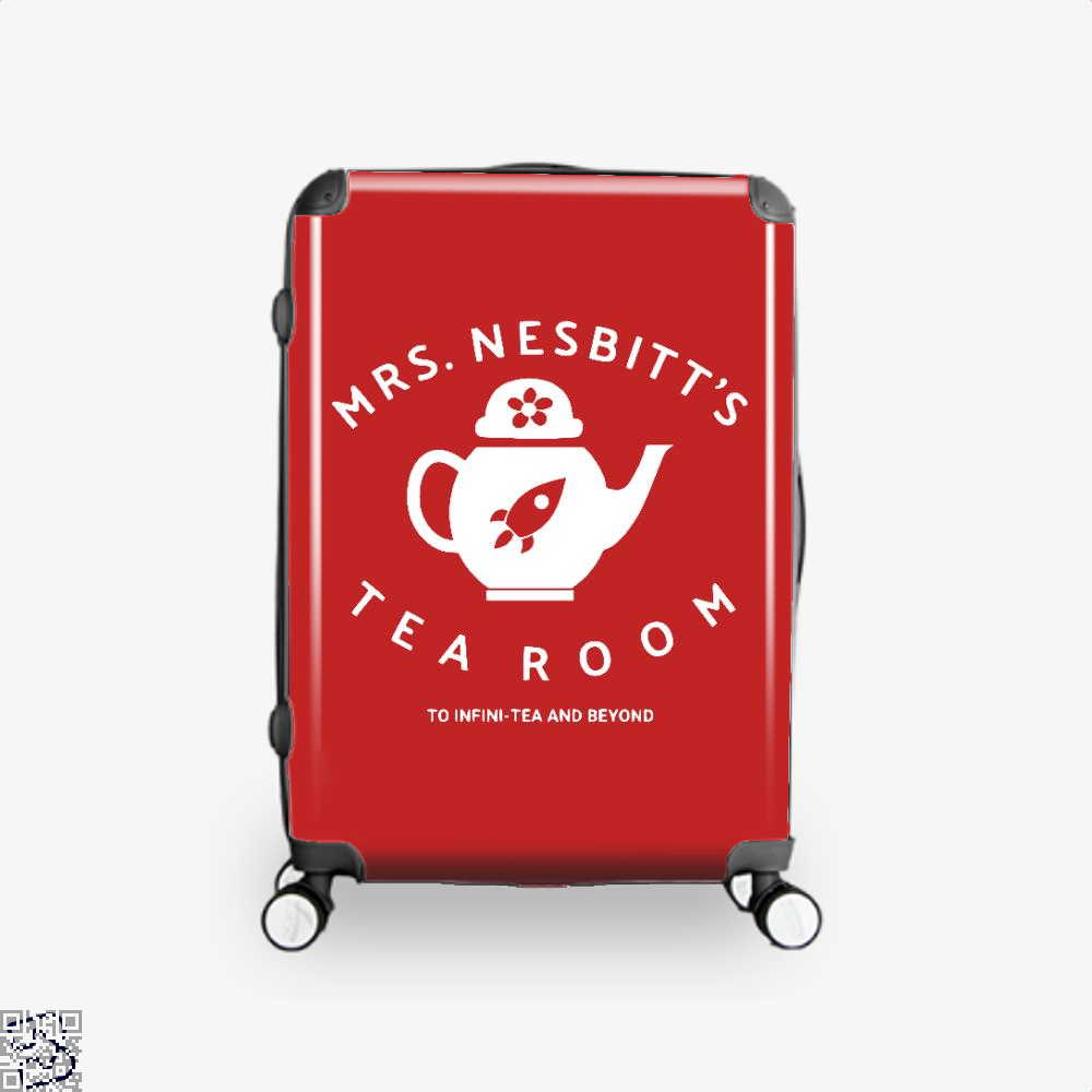 Mrs Nesbitts Tea Room Avengers Infinity War Suitcase - Red / 16 - Productgenapi