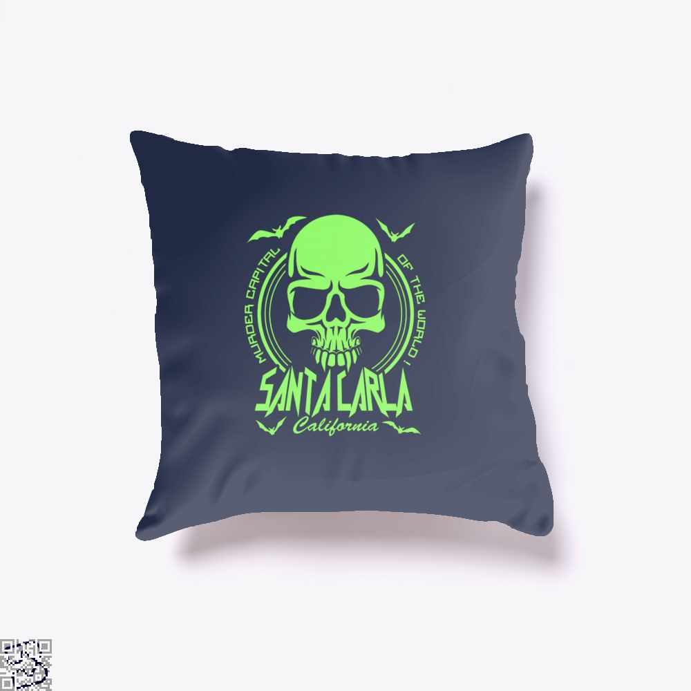 Murder Capital Of The World Buffy The Vampire Slayer Throw Pillow Cover - Blue / 16 X - Productgenjpg
