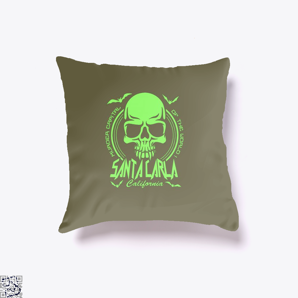 Murder Capital Of The World Buffy The Vampire Slayer Throw Pillow Cover - Brown / 16 X - Productgenjpg