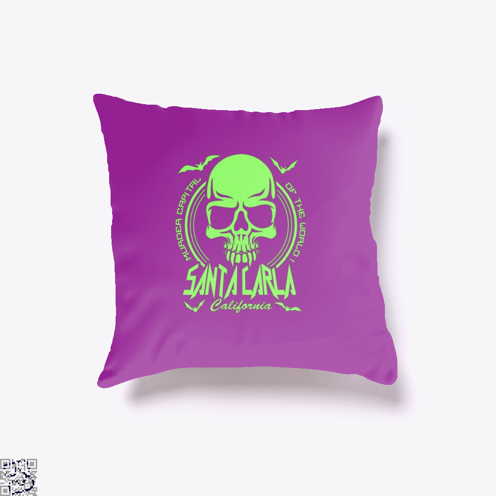 Murder Capital Of The World Buffy The Vampire Slayer Throw Pillow Cover - Purple / 16 X - Productgenjpg