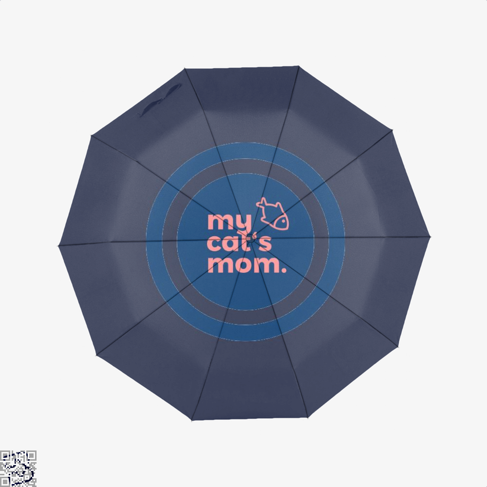My Cats Mom Cat Umbrella - Blue - Productgenjpg