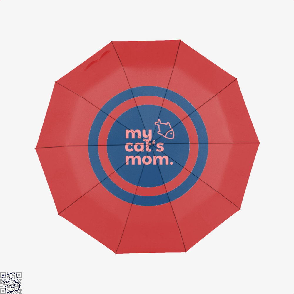 My Cats Mom Cat Umbrella - Red - Productgenjpg