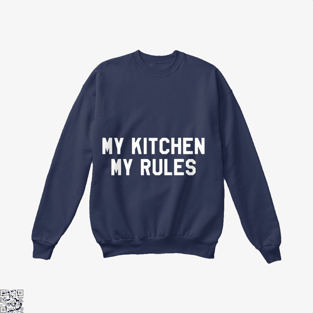 My Kitchen Rules Chefs Crew Neck Sweatshirt - Blue / X-Small - Productgenapi