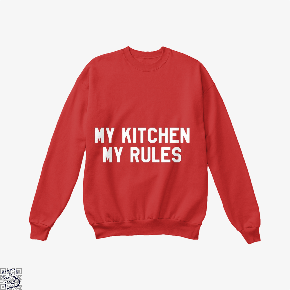 My Kitchen Rules Chefs Crew Neck Sweatshirt - Red / X-Small - Productgenapi