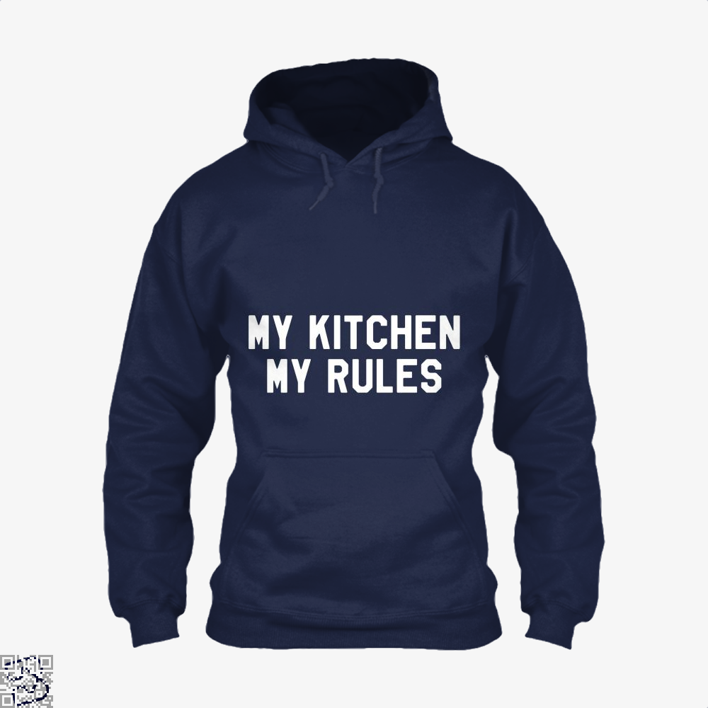 My Kitchen Rules Chefs Hoodie - Blue / X-Small - Productgenapi