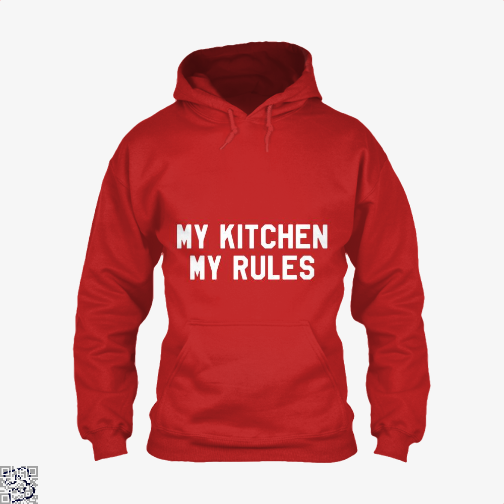 My Kitchen Rules Chefs Hoodie - Red / X-Small - Productgenapi